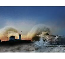 The Nubble in Trouble Photographic Print