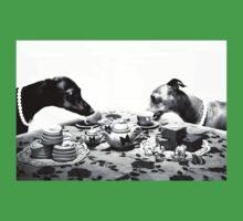 Doggy Tea Party Kids Tee