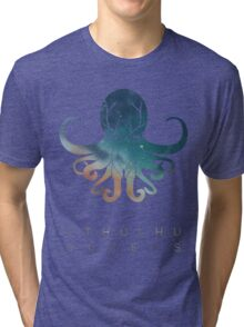 Deadmau5 Cthulhu Sleeps Tri-blend T-Shirt