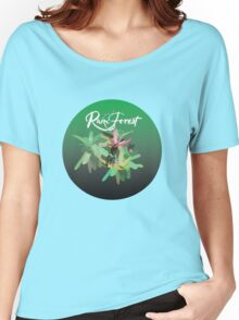 Flora on a shirt Women's Relaxed Fit T-Shirt
