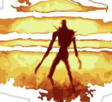 Giant God Warrior - Silhouette Sticker