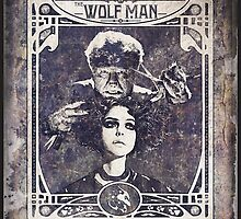 Metamorphosis by The Wolf Man: A Full Service Hair Salon (Old Metal Sign) by torg