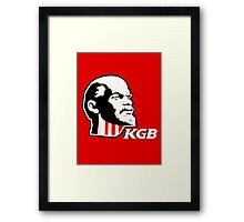 Finger-Lenin good! Framed Print