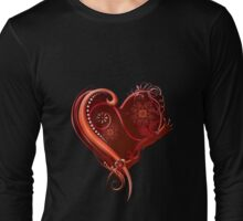 The Chromatic Deck - Ace of Hearts Long Sleeve T-Shirt