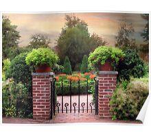 A Gated Garden Poster