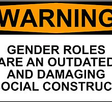 WARNING: GENDER ROLES ARE AN OUTDATED AND DAMAGING SOCIAL CONSTRUCT by Rob Price