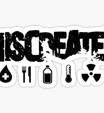 Miscreated  Design 2 Red (Official) Sticker