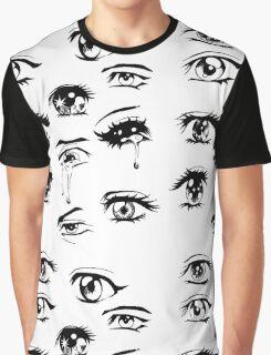 sad anime eyes  Graphic T-Shirt