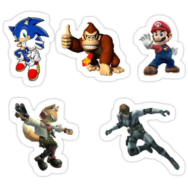 Smash Stickers by Maxime Babin