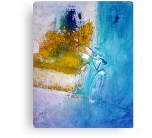 Little bike Canvas Print