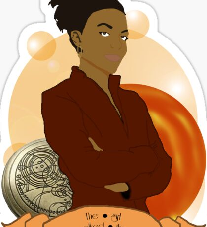 Doctor Who: The girl who walked the Earth - Martha Jones Sticker