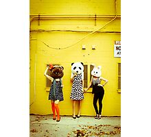Furry Fashion Photographic Print