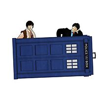 The Second Doctor and Jamie by Chris Singley