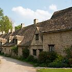 Weavers Cottages, Arlington Row, Bibury by Melodee Scofield