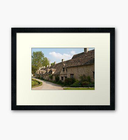 Weavers Cottages, Arlington Row, Bibury Framed Print