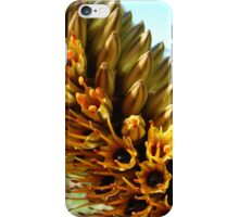 Yellow flowers with sap iPhone Case/Skin