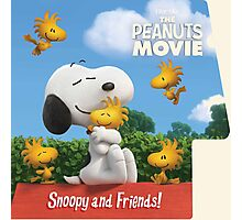 the peanuts movie snoopy and friend Photographic Print