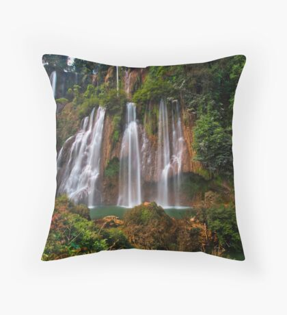 Harmony in the Jungle Throw Pillow