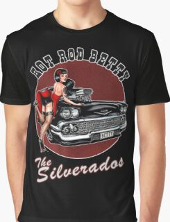 Hot Rod Betty - The Silverados  Graphic T-Shirt
