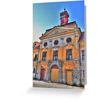 Baroque castle Greeting Card