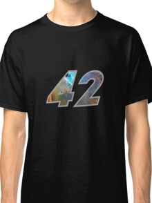 The Answer to the Ultimate Question of Life, the Universe, and Everything Classic T-Shirt