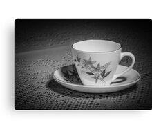 A Spot Of Tea Canvas Print