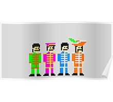 Sgt. Pixel's Lonely Hearts Club Band Poster