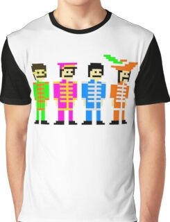 Sgt. Pixel's Lonely Hearts Club Band Graphic T-Shirt