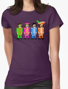 Sgt. Pixel's Lonely Hearts Club Band Womens Fitted T-Shirt