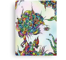 Psychedelic Tree Canvas Print