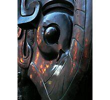 Da Tung & Xi'an Bao Bao, Shang Dynasty replica (2002, bronze).  Photographic Print