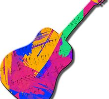 Groovy Guitar by Gravityx9
