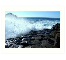 Giants Causeway Ireland Art Print