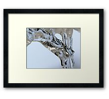 Ice concert Framed Print