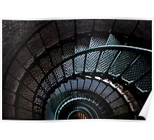 Currituck Lighthouse Stairs Poster