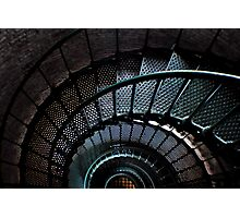 Currituck Lighthouse Stairs Photographic Print