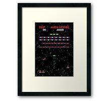 Galaga Wars Framed Print