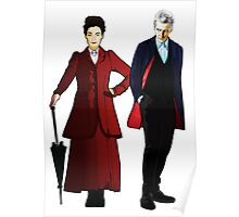 Doctor Who - 12th Doctor and Missy Poster