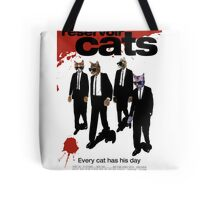 Reservoir Dogs (Cats) Meow Tote Bag
