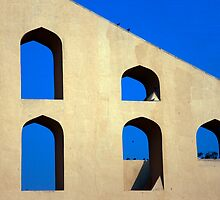 Five Arches of Jaipur by phil decocco