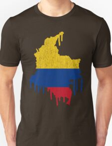 Colombia Paint Drip T-Shirt