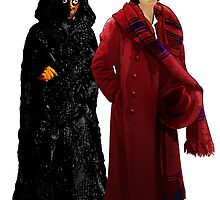 Doctor Who - Fourth Doctor and The Master by Chris Singley