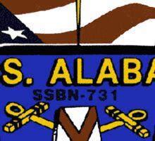 USS Alabama (SSBN-731) Crest Sticker