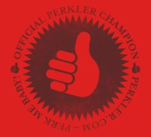 Official Perkler Champion - Red T-Shirt
