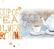 A cup of tea... by Maree  Clarkson