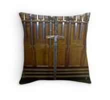 Scottish Cutlery Throw Pillow