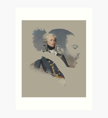 America's Favorite Fighting Frenchman Art Print