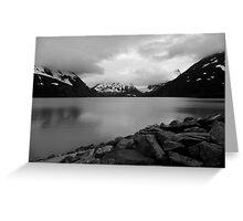 Somewhere in Alaska Greeting Card