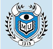 Monsters University Emblem Photographic Print