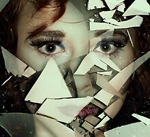 Broken mirror by Pawel Paszkowski